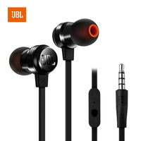 JBL T280A 3.5mm Wired Hands free Earphones In ear Fone De Ouvido Bass Music Original Jbl Earphones Mic In line Control Headsets