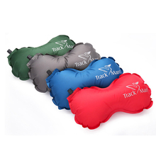Outdoor Automatic Inflatable Small Pillow Mini Ultralight Portable Air Camping Sleeping bag pillow Traveling