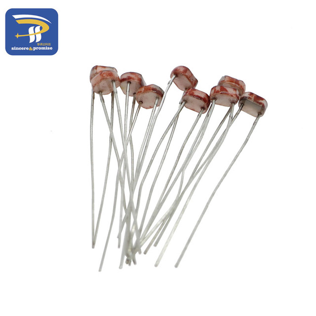 50 x 5528 Light Dependent Resistor LDR 5MM Photoresistor wholesale ...