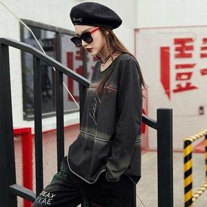 Image 5 - Max LuLu/Весенняя Роскошная Одежда в Корейском стиле панк, женские топы, футболки, женские футболки Kawaii, винтажные повседневные женские готические футболки, 2019