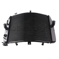 Motorcycle Accessories Aluminum Motorcycle Radiator For SUZUKI 2004 2005 GSXR 600 750 04 05 Black Free