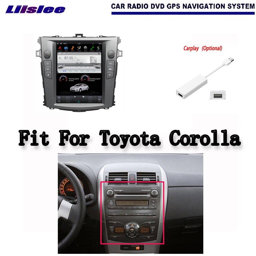 Android 2G RAM для Toyota Corolla 2007 ~ 2012 автомобилей Радио Аудио Видео Мультимедиа DVD плеер Wi Fi gps Navi навигации