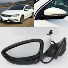 цена на Brand New 13 Pins Power Adjusted Power Heated Side View Mirror For Volkswagen  CC 2010-2018