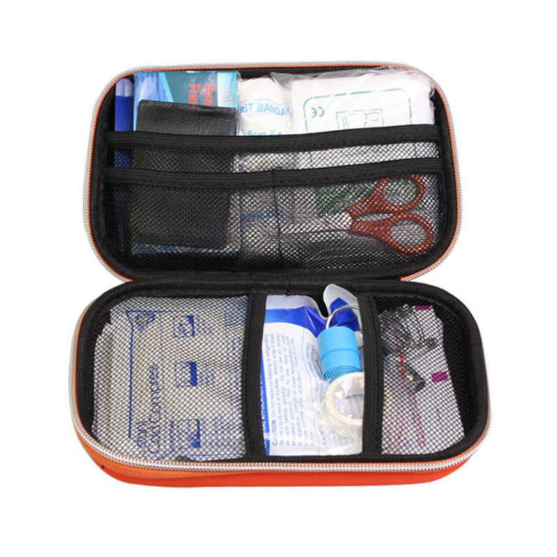 Emergency kits first aid kit outdoor survival travel hiking medical emergency treatment pack set EVA pouch bag 18 kinds/pack eva first aid kit 18 sets of outdoor survival home rescue disaster emergency kits camping hiking medical treatment pack