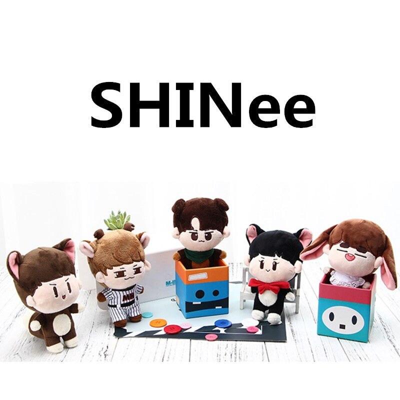 PCMOS KPOP Shinee muñecos de peluche uno Jonghyun] Clave Min Ho juguetes Taemin Animal muñeca de juguete para los niños de las mujeres regalo - 2