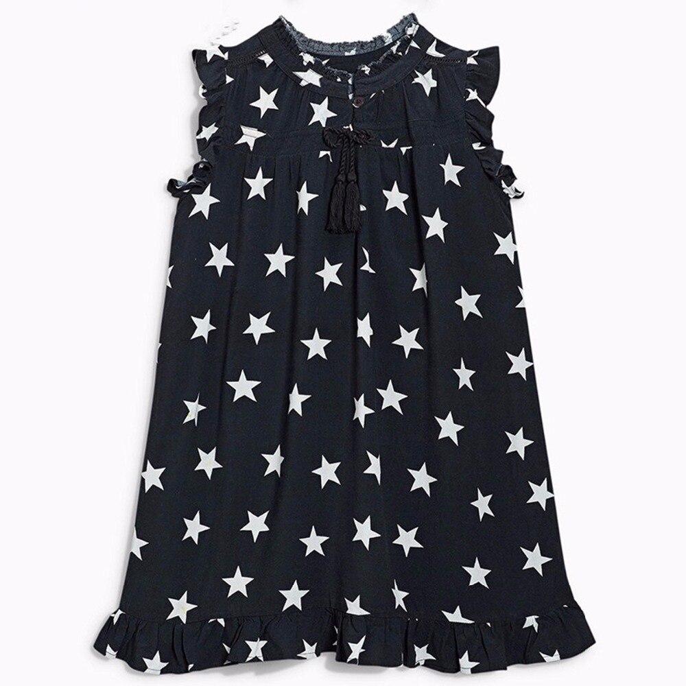 Online Get Cheap Black and White Star Dress Girls -Aliexpress.com ...