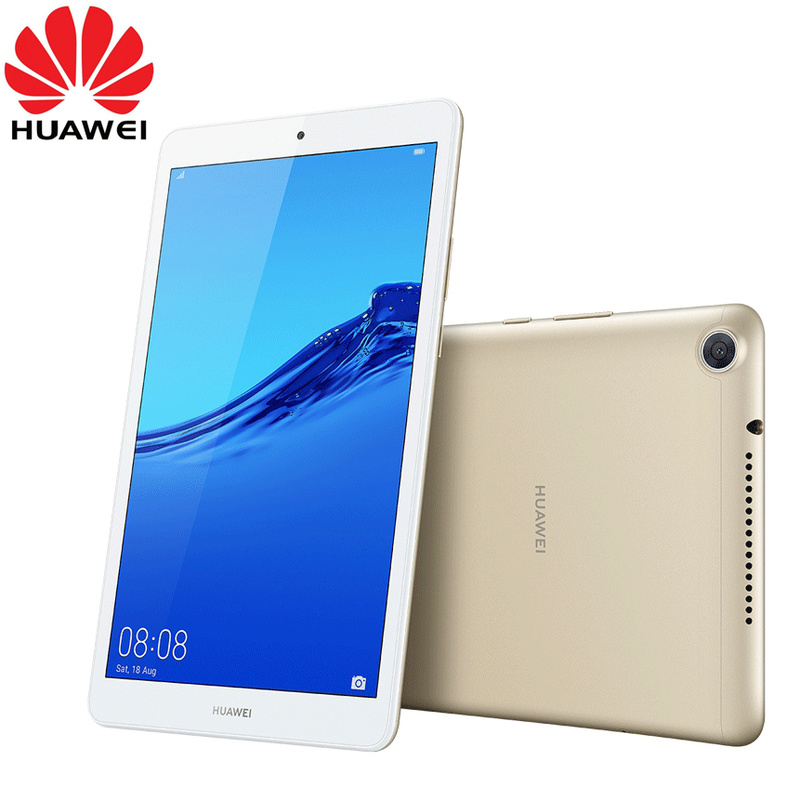 HUAWEI Mediapad M5 Lite 8.0 Inch Android 9 EMUI 9 Hisilicon Kirin 710 Octa Core Dual Camera 5100mAh Battery Tablet Official Rom