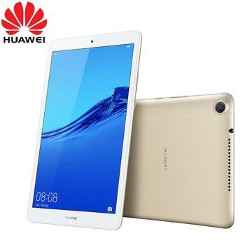 Cargadores de coche HUAWEI Mediapad M5 lite 8,0 pulgadas Android 9 EMUI 9 Hisilicon Kirin 710 Octa Core Dual Camera 5100mAh batería Tablet oficial rom