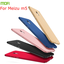 New For Meizu m5 Cover Case High Quality MOFI Hard m5/meilan 5 Ultra Thin Phone Shell meizu noblue