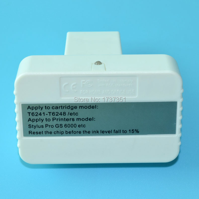 Cartridge Chip Resetter for Epson Stylus Pro GS6000 chip resetter for epson stylus pro 4910 refillable ink cartridge