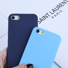 Luxury Soft Back Matte Cover For iPhone 6 6S X XS Max XR 5 5S SE 7 8 Plus Candy Color Shockproof TPU Silicone Capas Case Coques цена и фото
