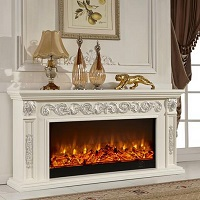 Large 1500W 220v electric fireplace insert heater / style ...