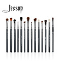Jessup 14 unids alta calidad pincel de maquillaje profesional set maquillaje cepillos kit de herramientas t132