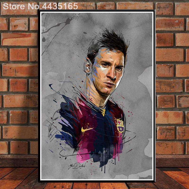 42x60 G816 Lionel Messi Barcelona Football Soccer Super Star