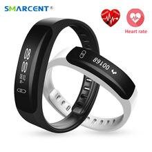 Smarcent сердечного ритма Смарт Браслет Приборы для измерения артериального давления Мониторы счетчик импульсов умный браслет часы IP67 Водонепроницаемый Фитнес трекер Браслет
