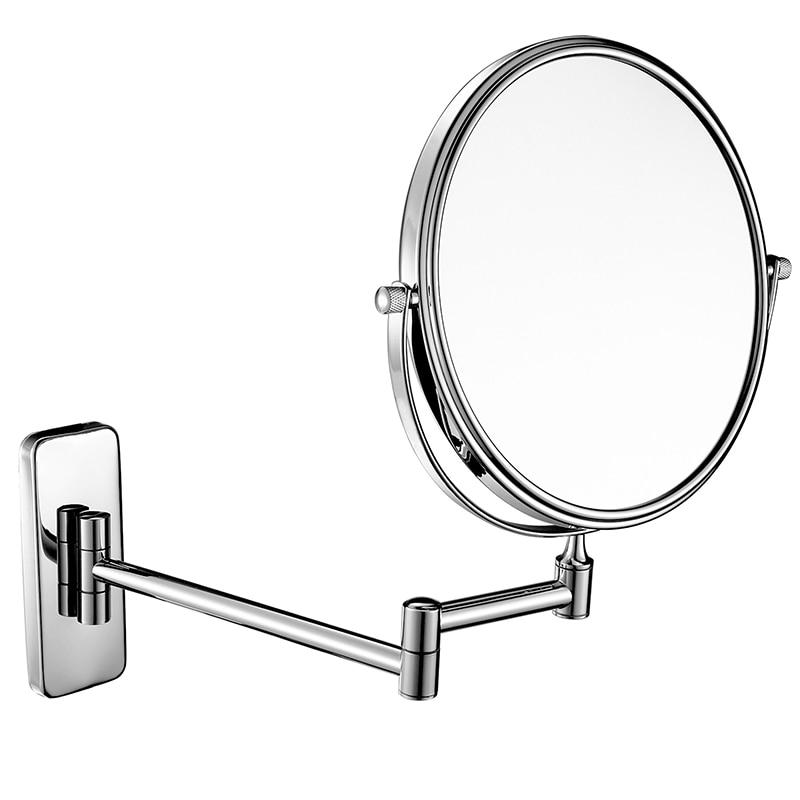 GuRun 10x Magnification Wall Mounted Bathroom Cosmetic ...