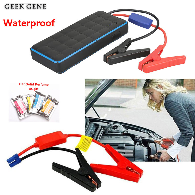 Waterproof Jump Starter for All 12V Car engine Portable Power bank charger for car battery 80L Petrol Diesel Starting Device portable starting device 68800mah car jump starter 4usb power bank 600a pack car battery charger for petrol diesel car starter