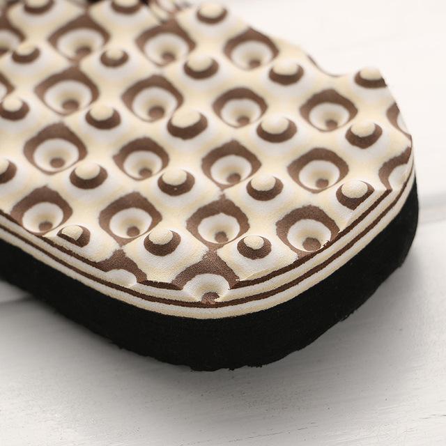 KESMALL Cheap Summer Men Flip Flops Bathroom Slippers Men Casual PVC EVA Shoes Fashion Summer Beach Sandals Size 40~44 WS10