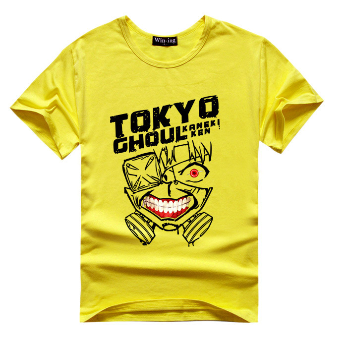 Tokyo Ghoul Kaneki Ken T Shirt Men Boy T-shirt Anime Tshirt Tee Uta Mask 10 Colors