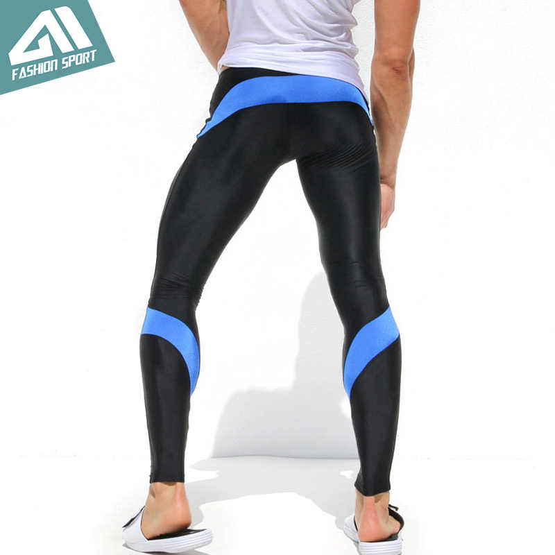 Aimpact Skinny Men Sport Pants Athletic Slim Fitted Running Men's Pants Gym Tight Sweatpants AQ19