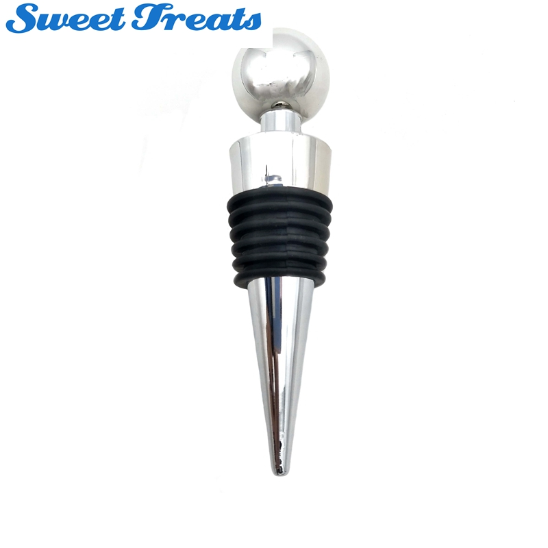 Sweettreats Twist Wedding Wine Collection alloy+plastic Fresh Gifts High Quality Wine Stopper Red Wine Bottle Stopper always fresh seal vac