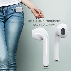 Image 2 - M & J auriculares Tws i7S inalámbricos por Bluetooth, auriculares estéreo con cargador para iPhone, Samsung, iphone, caja de venta al por menor