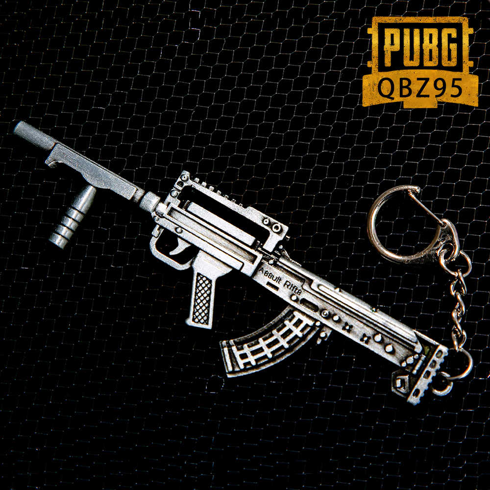 PUBG Vicney Nova Chegada Arma Chaveiro Chaveiros Para Homens Dota Chaveiro Keychain do Anel Chave Para O Presente Namorado AK47 CSGO