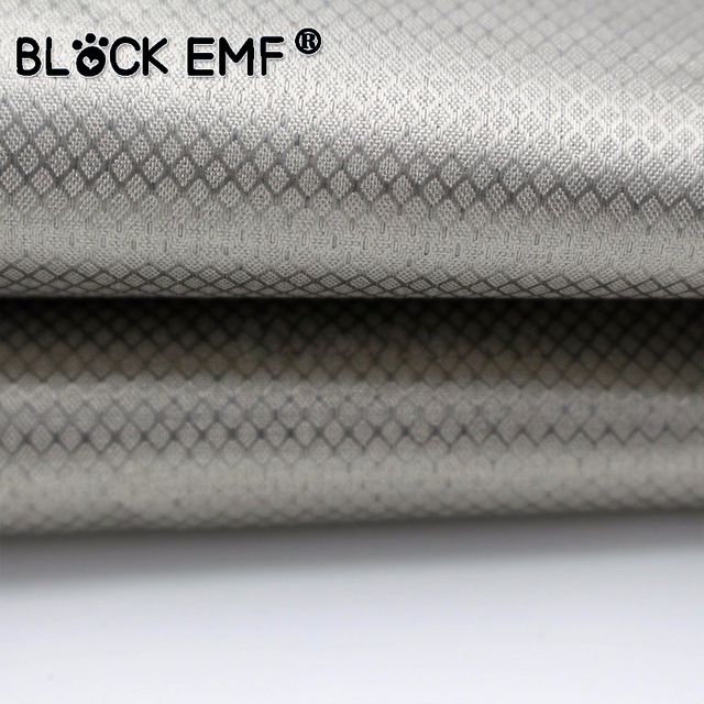 Radio frequency shielding fabric f