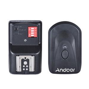 Image 3 - Andoer Ad 560 Ii Universal Flash Speedlite Speedlight W/Wireless Flash Trigger Voor Canon Nikon Olympus Pentax Dslr camera Flash
