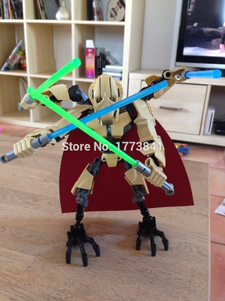 XSZ 66pcs Limited Edition Star Wars Prince of the Devils Robot Building Blocks Children Toys Boy Gift Compatible With Legoe