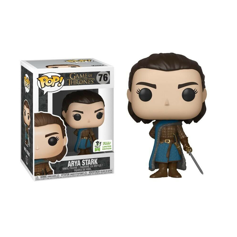 FUNKO POP Game Of Thrones Character ARYA STARK 76# Vinyl Action Figure Collection Model Toys for Children Christmas Gift image