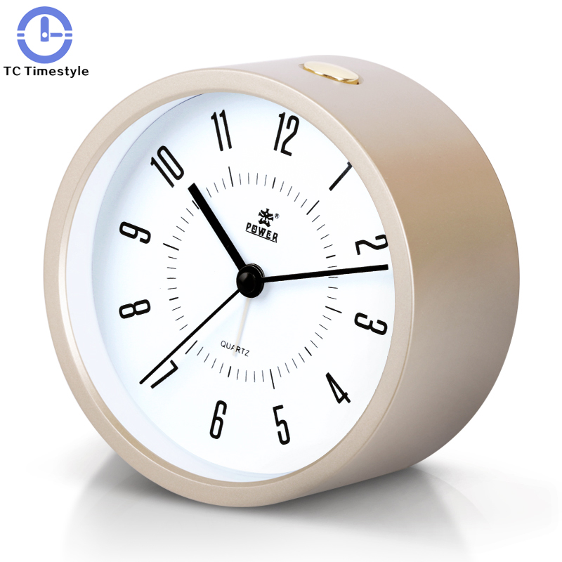 Modern Simple Alarm Clock Creative Student Lovely Bedside Quiet Childrens Night Light Simple Electronic Needle Bedroom