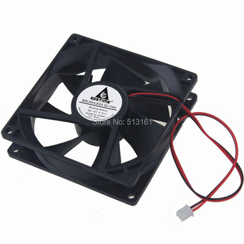 1Pcs Gdstime Brushless DC Cooling Cooler Fan 9025S 92mm x 25mm 92mm 9225 12V 2Pin вентилятор id cooling no 9225 sd