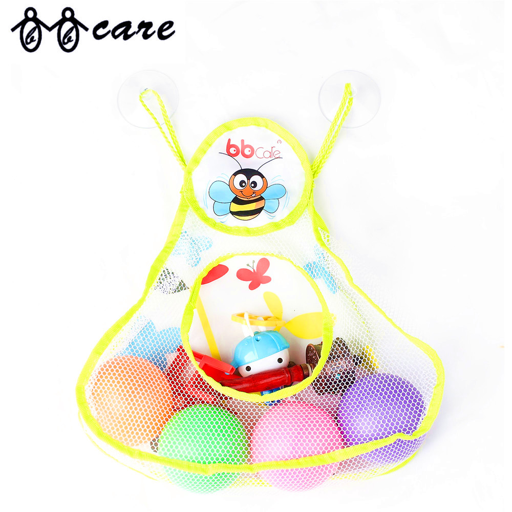 Baby Bath Toy Organizer & Bath Toy Storage with Strong Suction Cups ...