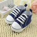 Primavera 2016 Sapatos de bebê da criança Do Bebê Primeiros Caminhantes prewalker sola macia, meninos recém-nascidos antiderrapante bebe sapatos idade 0-18 meses marca
