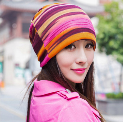 free shipping 2017 Autumn and winter sets of hat women female tide dual use scarf hat