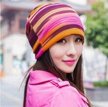 Бесплатная доставка 2017 Осенние и зимние комплекты шляпа женщины женщина прилив двойного назначения шарф шляпа шапка Баотоу шляпа куча крышка