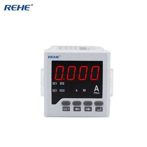 REHE RH-AA61 72*72MM Disponível OEM Eletrônica DIgital Monofásico AC Amperímetro Ampere Power