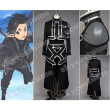 Anime Sword Art Online Alfheim Online Kirito Outfit Halloween Cosplay Costume