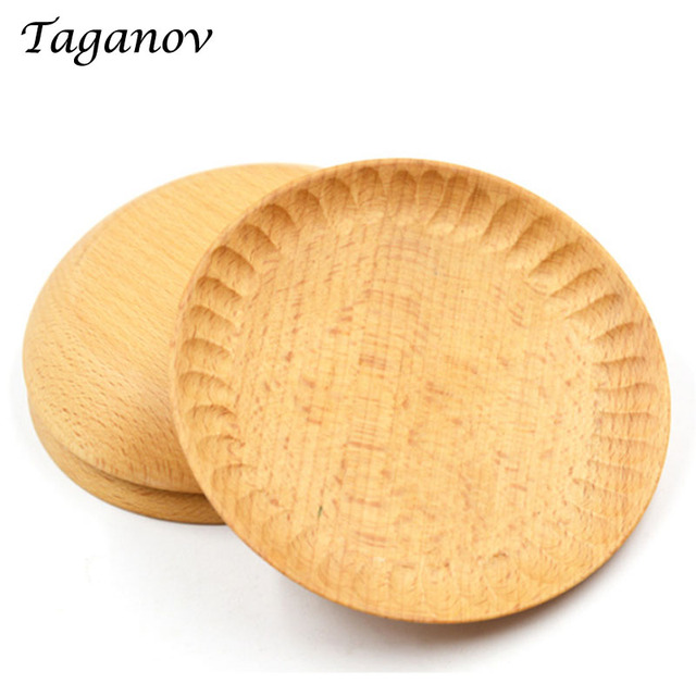 10 Pcs / Lot Japanese beech Sauce Wood dish dinner plates organizer Creative wooden snack tray  sc 1 st  AliExpress.com & 10 Pcs / Lot Japanese beech Sauce Wood dish dinner plates organizer ...