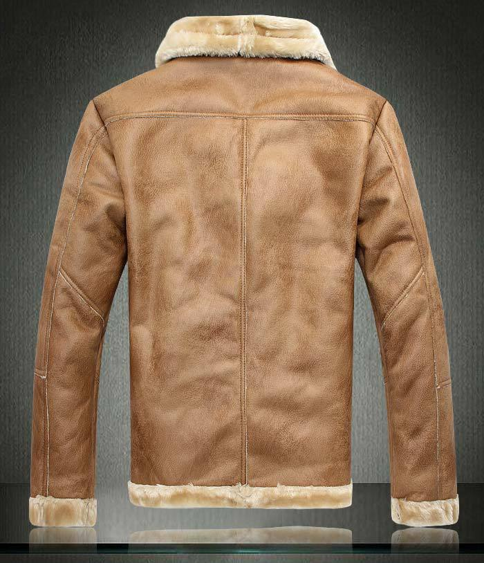 Aliexpress.com : Buy New Mens 2015 Winter Faux Shearling SHEEPSKIN ...
