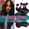 8A Indian Virgin Hair Body Wave 4Bundles Rosa Hair Products Raw Indian Hair Unprocessed Indian Body Wave Virgin Human Hair Weave