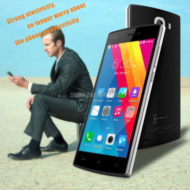 2016 Hot New KENXINDA J7 5.0 Inch Quad Core Mobile Phone Android 1GB RAM/8GB ROM 3100mAh Big Battery