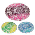 150cm Summer Chiffon Printed Round Beach Towels Bohemian Style Retro Circle Beach Towel Serviette De Plage Reactive Printing