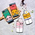 2017 Hot Korea super cute Cartoon 3D Apeach Ryan Soft silicone phone case For iphone 6 6s 7 Plus new Milk bottle Back Cover