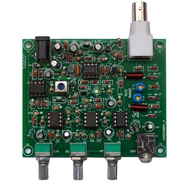 Envío Libre Del Precio de Fábrica DIY Kit Receptor de Alta Sensibilidad de la Aviación Banda Airwave Receptor Versión Clásica Kit DIY