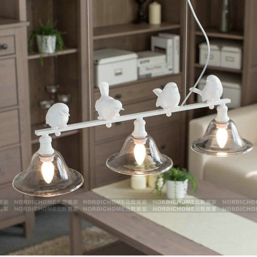 Nordic chandelier Iron Modern Pendant Lamp Indoor Lighting Fixture for Edison Bulb Chandelier