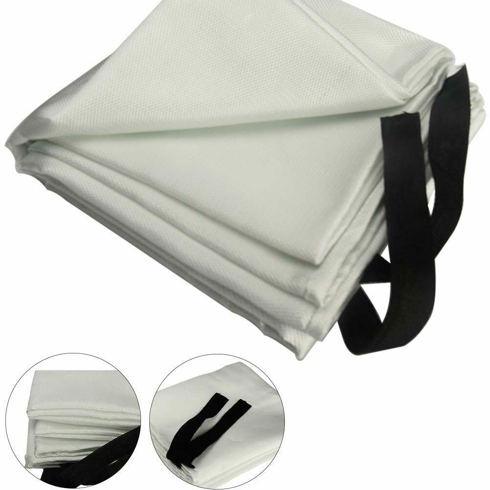 1x Welding Fireproofing Blanket Fire Flame Retardent Fiberglass Shield Reliable