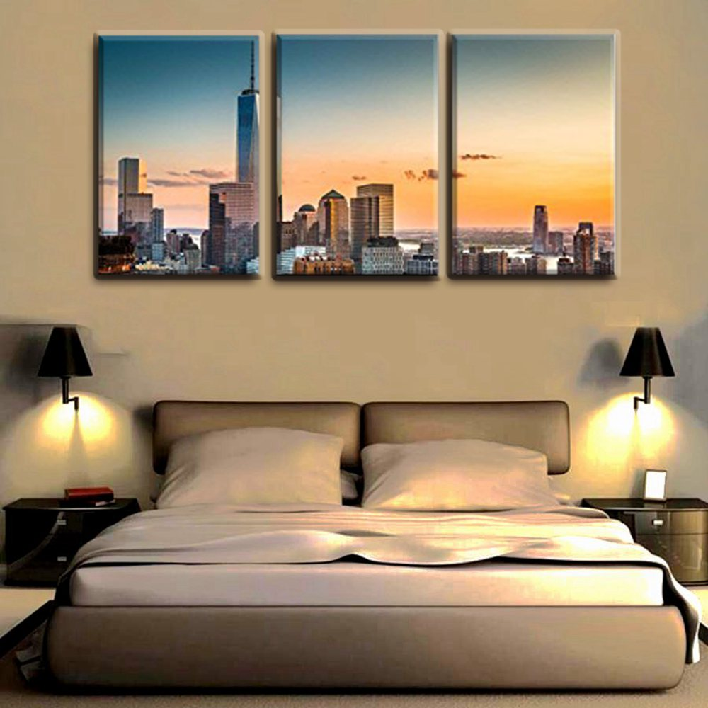 Fantastic New York Cityscape Wall Art Elaboration - Wall Art ...