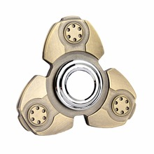 Muscle Relax Tri-Spinner Fidgets Anti Spring Toy Hand Spinner Metal Spinner New Zinc Alloy Ceramic Bearings Finger Gyro EDU Toys